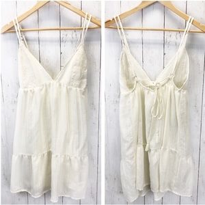 Xhilaration Boho Strappy Babydoll Dress Sz M ::UU6